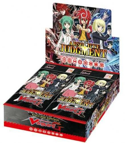 ABSOLUTE JUDGMENT BOOSTER BOX VGE-G-BT08