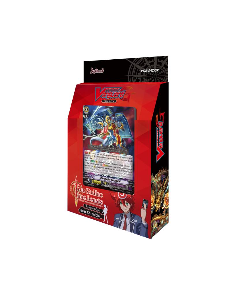 CARDFIGHT VANGUARD TRUE ZODIAC TIME BEASTS