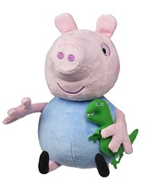 PEPPA PIG: HUG N OINK PEPPA PLUSH BLUE