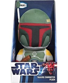 STAR WARS TALKING PLUSH BOBA FETT