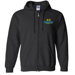 Gildan Heavy Blend Zip Sweatshirt (Black)