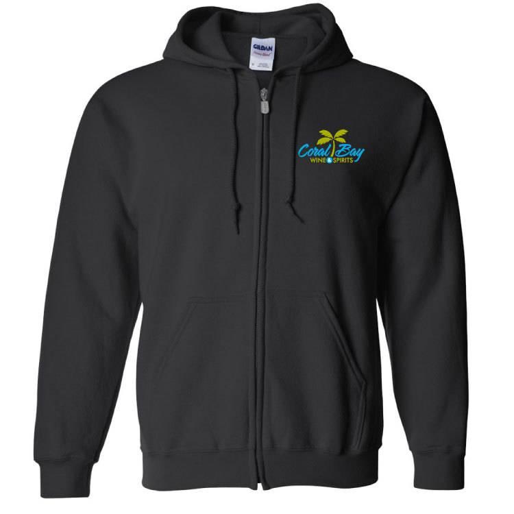 Gildan Gildan Heavy Blend Zip Sweatshirt (Black)