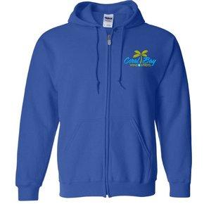Gildan Heavy Blend Zip Sweatshirt (Royal)