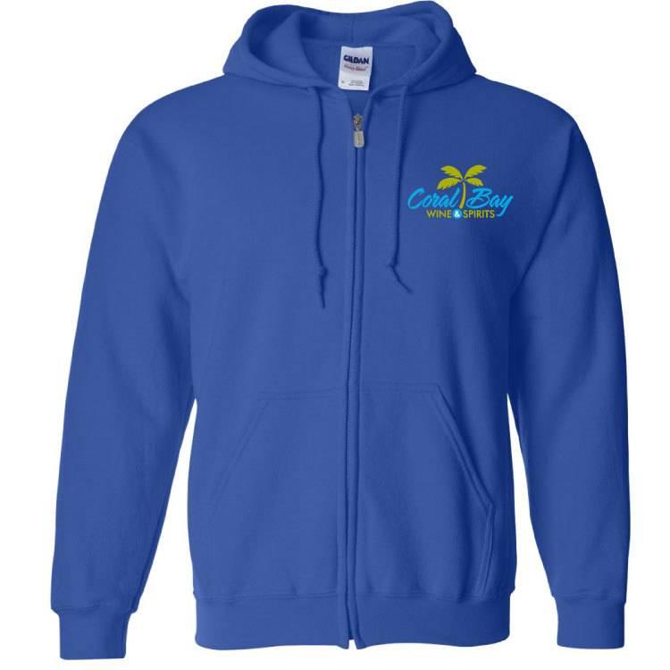 Gildan Gildan Heavy Blend Zip Sweatshirt (Royal)