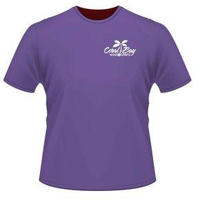 Next Level CVC Crew T Shirt (Purple Rush)