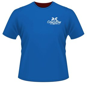 Next Level CVC Crew T Shirt ( Royal)