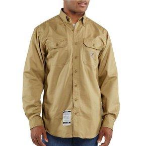 Carhartt Carhartt Flame Resistant Twill Shirt (Khaki)