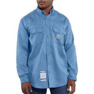 Carhartt Carhartt Work Dry Light Weight Twill Shirt 6oz ( Medium Blue)