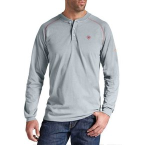 Ariat FR Work Henley LS ( Silver Fox)