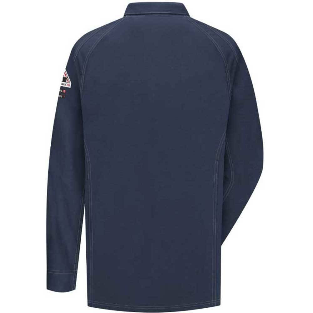 Bulwark Bulwark IQ Long Sleeve Polo HRC2 (Navy)
