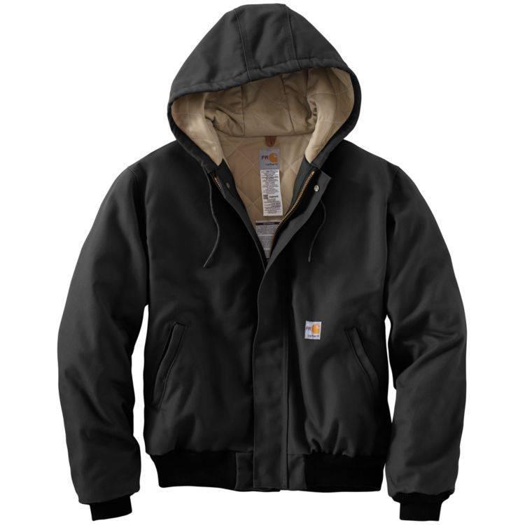 Carhartt Carhartt FR HW Duck Active Jacket (Black)