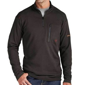 Ariat Ariat FR Work 1/4 Zip (Werewolf)