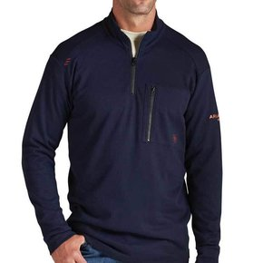 Ariat FR Work 1/4 Zip (Navy)