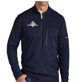 Ariat FR Work 1/4 Zip (NAVY SS)