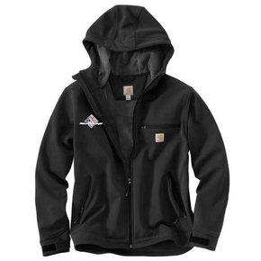 Carhartt Men's Crowley Hooded Jacket Non FR (Black SS)