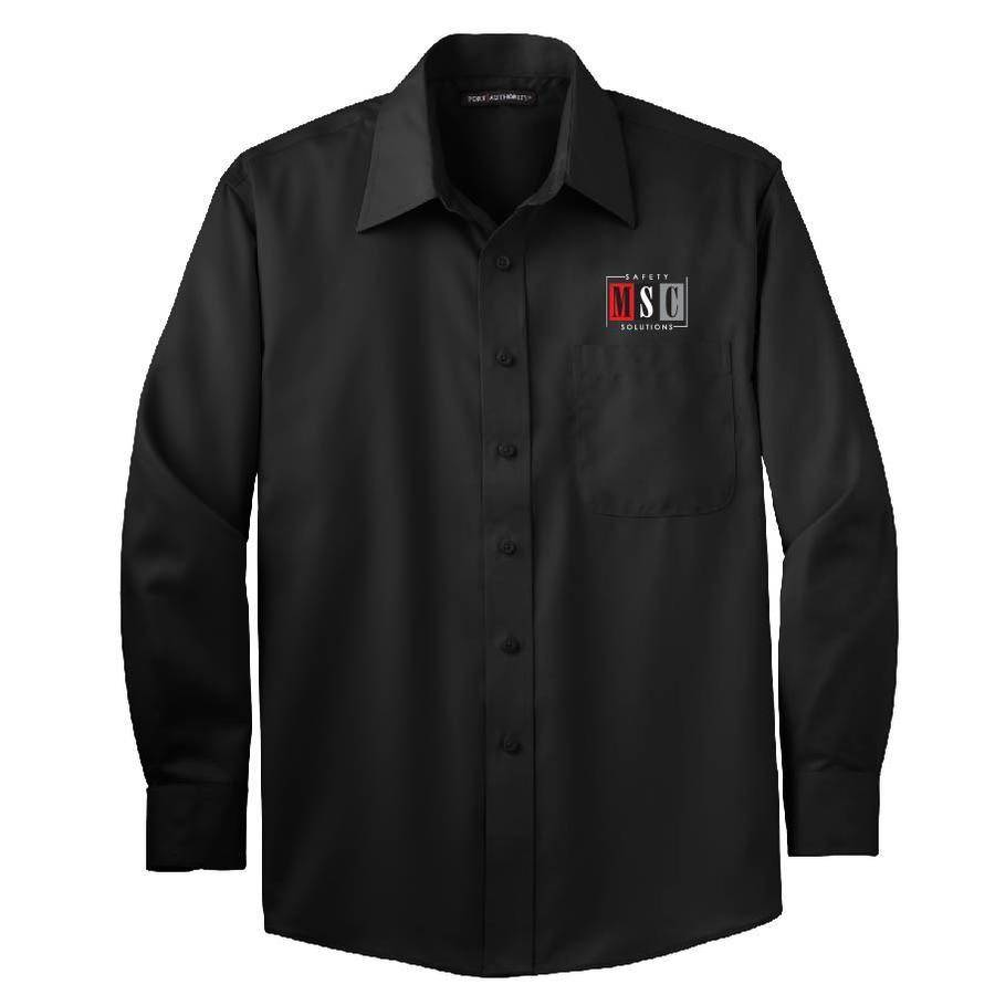 Port Authority Port Authority Twill Shirt (Black)