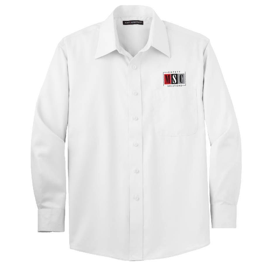 Port Authority Port Authority Twill Shirt  (White)