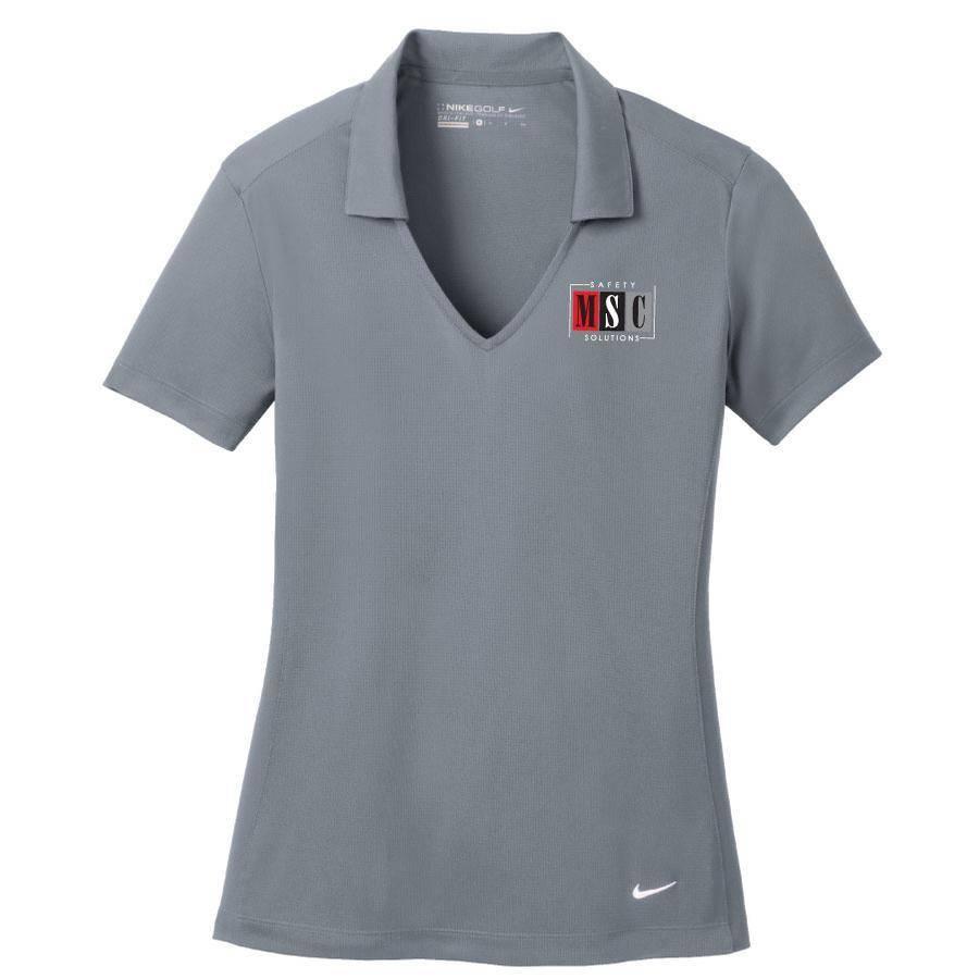 Nike Nike Golf Ladies Dry-Fit Polo (Cool Grey)