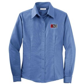 Red House Red House Ladies Button Shirt (Mediterranean Blue)