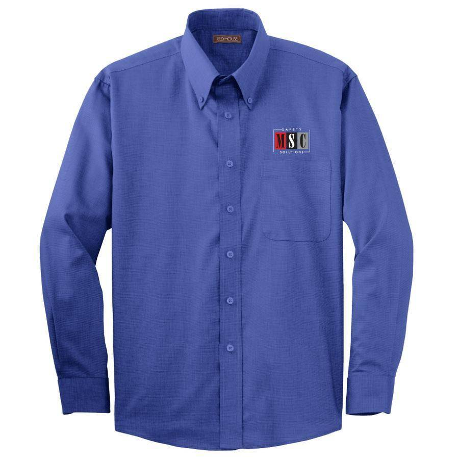 Red House Red House Men's Button Shirt (Mediterranean Blue)