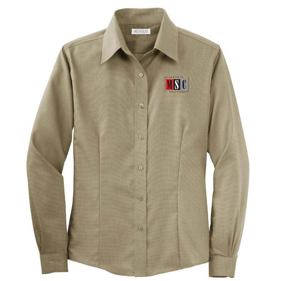 Red House Red House Ladies Button Shirt (Tan)