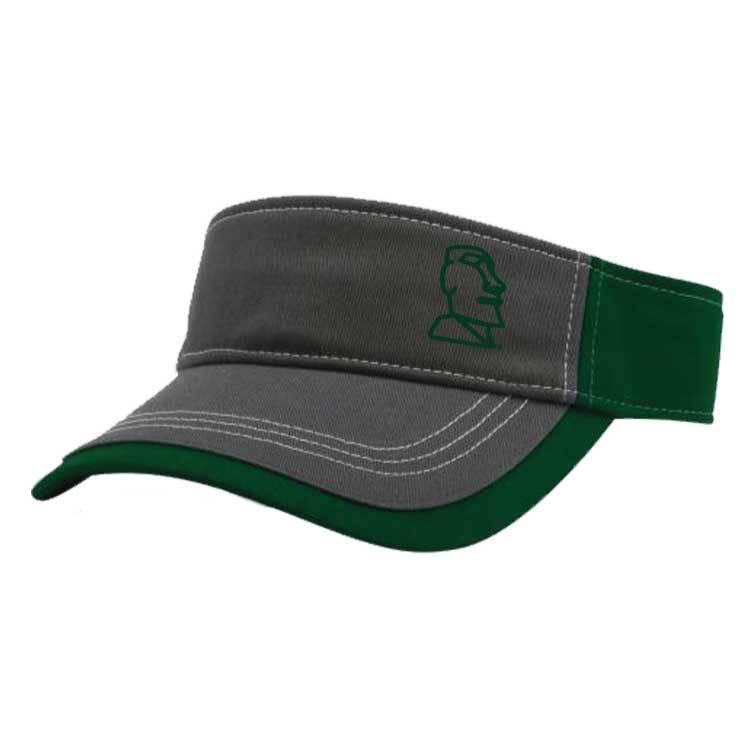 Richardson Richardson Visor ( Charcoal/Dark Green)