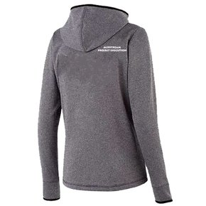 Holloway Holloway Ladies Artillery Angled Jacket (Grey w/white logo)
