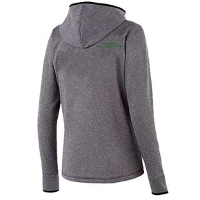 Holloway Holloway Ladies Artillery Angled Jacket (Grey w/green logo)