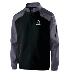 Holloway Holloway Raider Pullover (Black w/white logo)