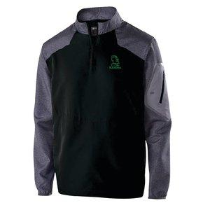 Holloway Holloway Raider Pullover (Black w/ green logo)