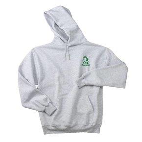 JERZEES® SUPER SWEATS® - Pullover Hooded Sweatshirt ( Ash )