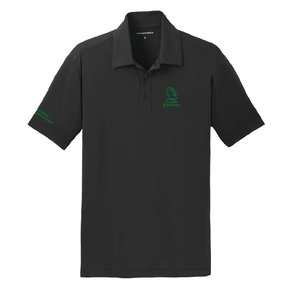 Port Authority® Cotton Touch Performance Polo ( Black )