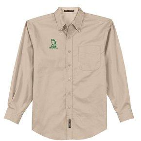 Port Authority® Long Sleeve Easy Care Shirt (Stone)