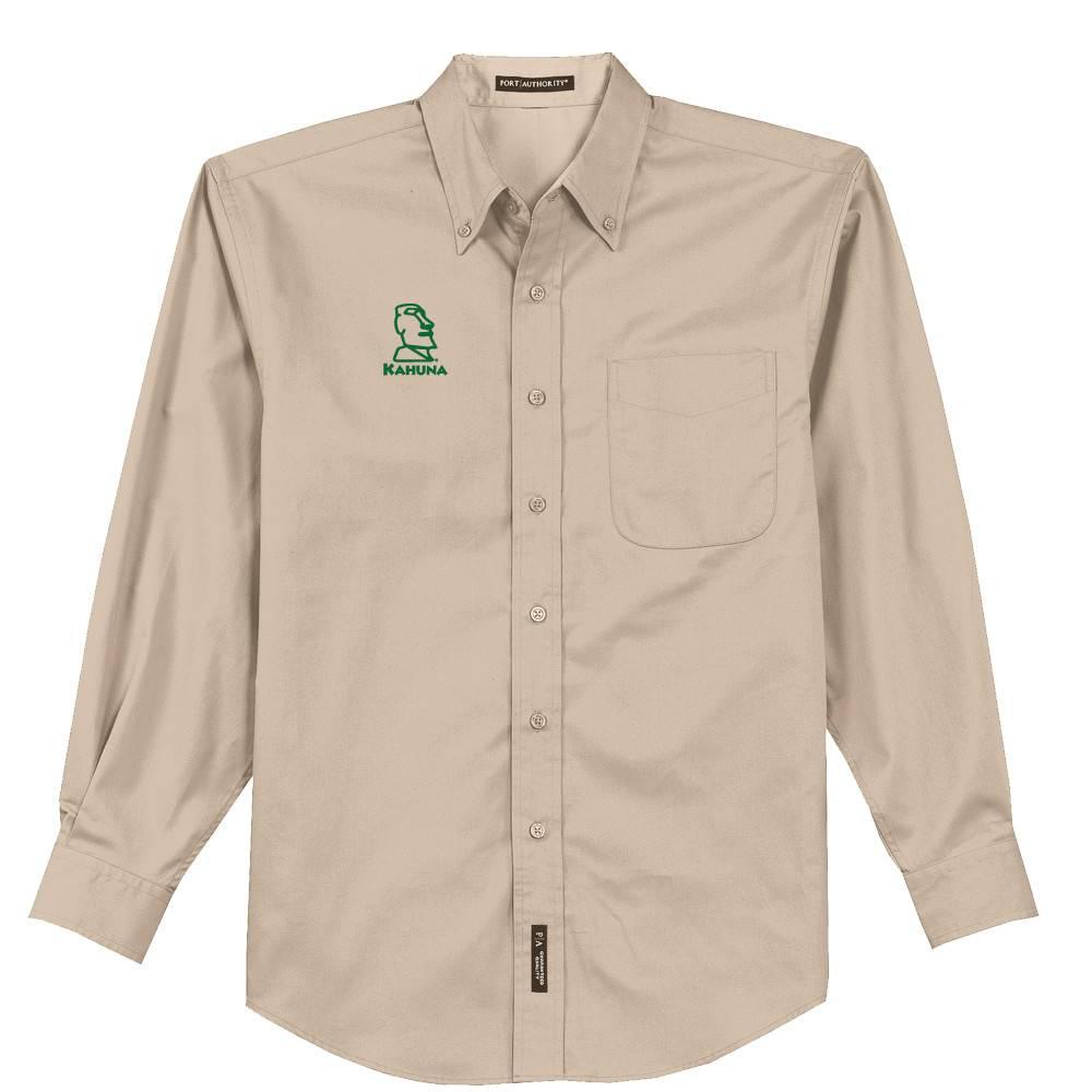 Port Authority Port Authority® Long Sleeve Easy Care Shirt (Stone)