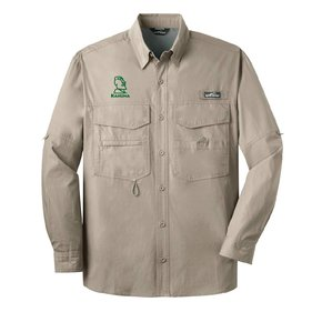 Eddie Bauer Eddie Bauer® - Long Sleeve Fishing Shirt ( Driftwood)
