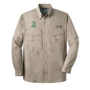 Eddie Bauer® - Long Sleeve Fishing Shirt ( Driftwood)