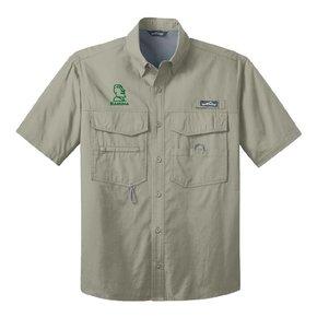 Eddie Bauer® - Short Sleeve Fishing Shirt ( Driftwood )
