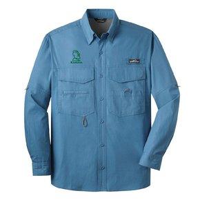 Eddie Bauer® - Long Sleeve Fishing Shirt ( Blue Gill )