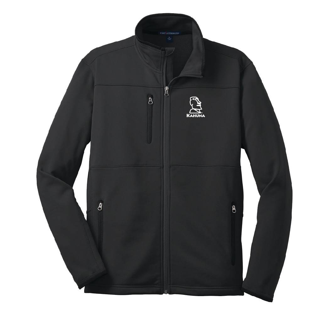 Port Authority Port Authority® Pique Fleece Jacket (Black)