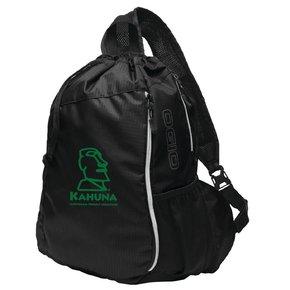 OGIO® Sonic Sling Pack ( Black w/green logo)