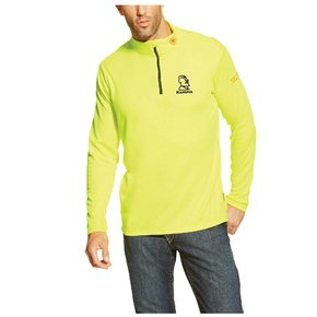 Ariat Ariat Fr Polartec 1/4 Zip Baselayer (High Vis Yellow)