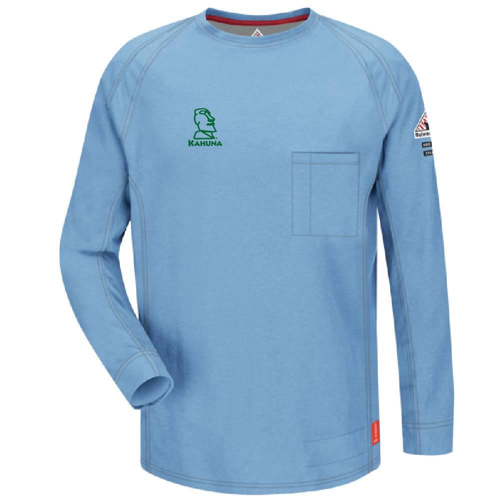 Bulwark Bulwark iQ Series® Long Sleeve Tee (Blue)