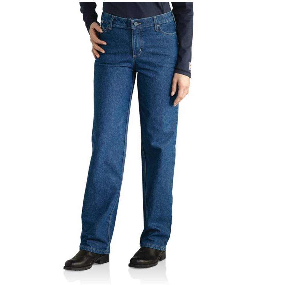 Carhartt Carhartt Ladies FR Utility Jean ( Denim)
