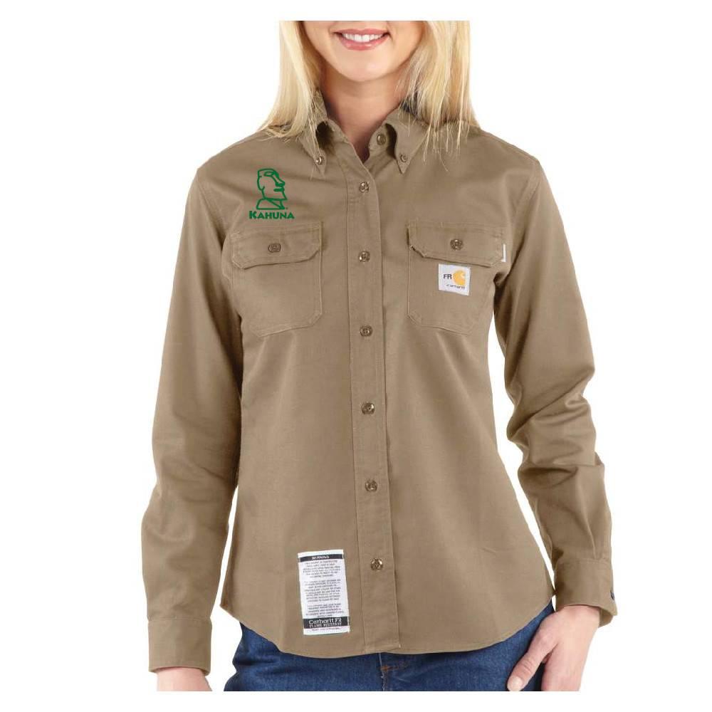 Carhartt Carhartt Women's FR Twill Shirt ( Khaki)