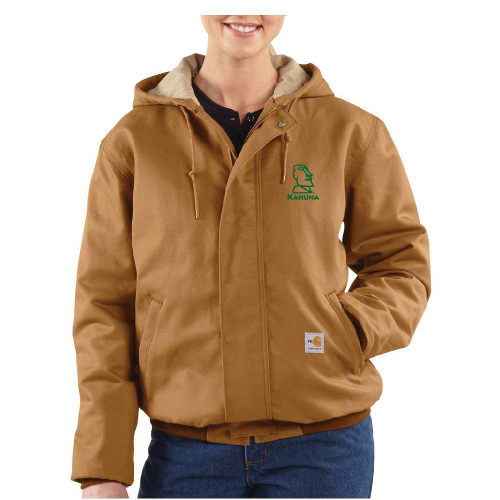 Carhartt Carhartt Women's FR Midweight Canvas Active Jacket ( Carhartt Brown)