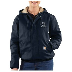 Carhartt Carhartt Women's FR Midweight Canvas Active Jacket ( Dark Navy)