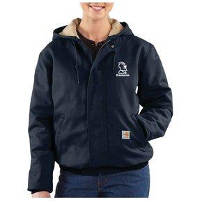 Carhartt Women's FR Midweight Canvas Active Jacket ( Dark Navy)
