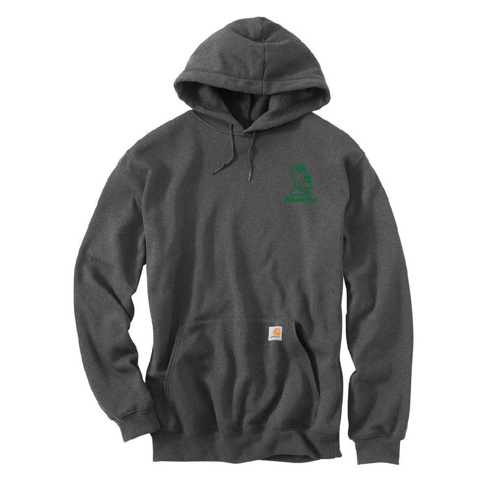 Carhartt Carhartt Midweight Hooded Pullover Sweatshirt (Grey)