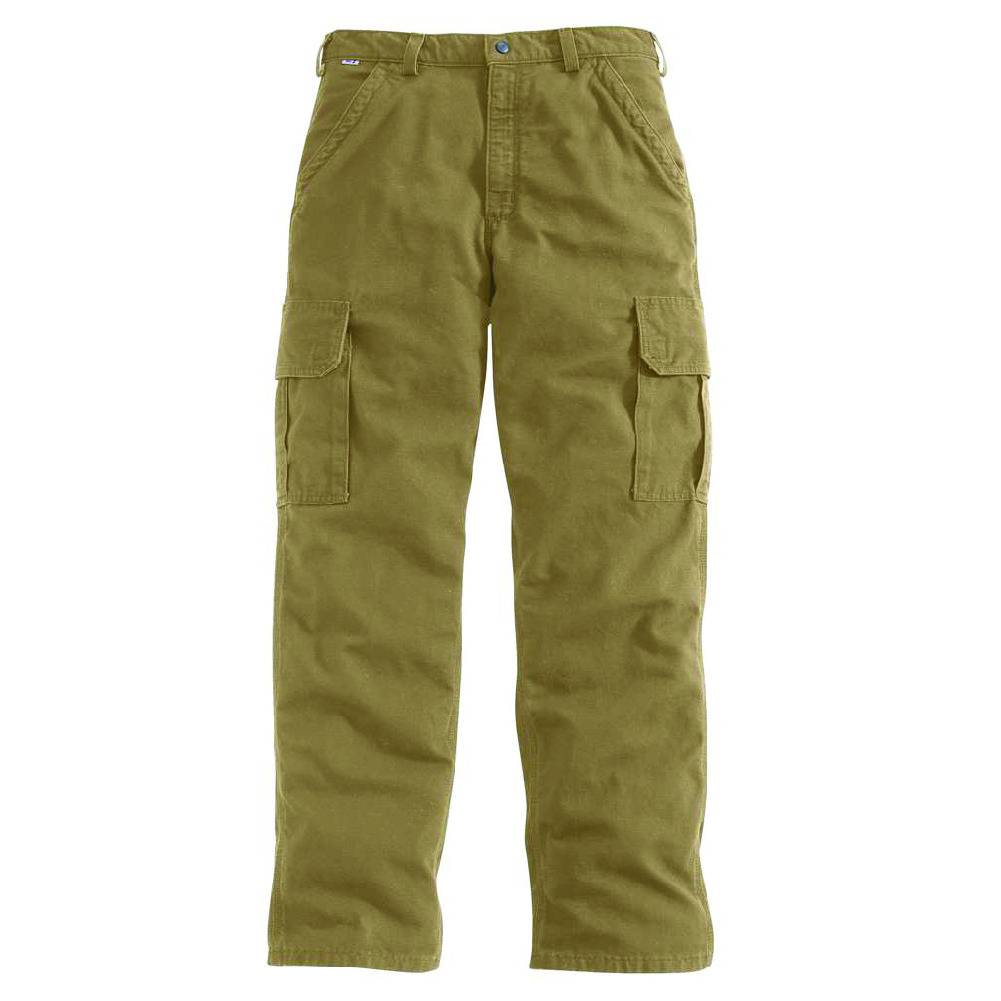 Carhartt Carhartt FR Mens' Canvas Cargo Pant ( Golden Khaki)