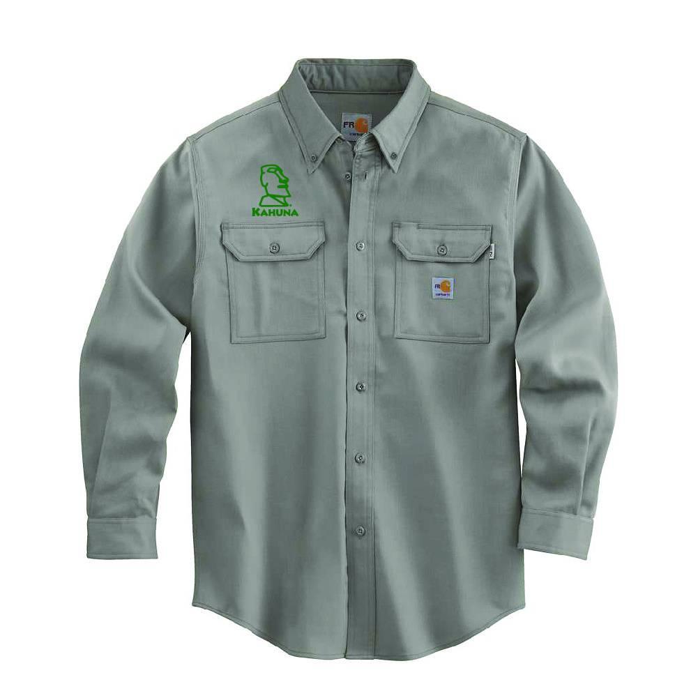 Carhartt Carhartt FR Lightweight Twill Shirt (Grey)